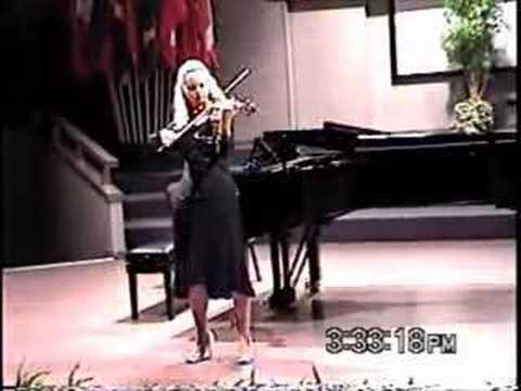 Bach Violin Sonata No. 2 A Minor Grave - Rosalie Macmillan