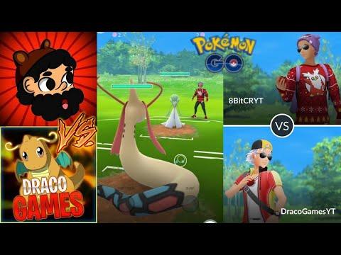 DRACO vs 8BIT !! COMBATES ÉPICOS (PvP) !! - Pokemon Go