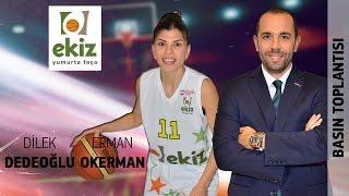AS Kadirli - Ekiz Yumurta Foça Basketbol (Basın Toplantısı) (TKB2L 4. Hafta)