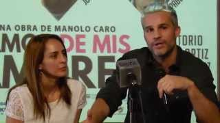 IRÁN CASTILLO Y JUAN PABLO MEDINA EN OLGA TV.