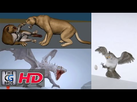 "CGI & VFX Showreels: ""Animation Reel"" - by Anshul Khariwal"