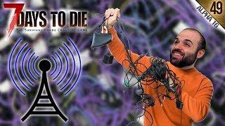 7 DAYS TO DIE A16 #49   ADIÓS CABLES!! TODO WIRELESS :O   Gameplay Español