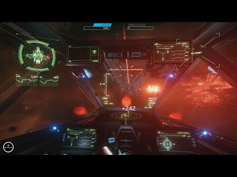 Star Ctizen Вооружение корабля, настройка оружия и компонентов.