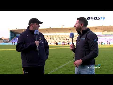 Kilmacud Crokes manager Robbie Brennan speaks to DubsTV after quarter final win over Na Fianna