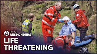 Horrific Accident On Industrial Site | Helicopter ER S1 E3 | Real Responders