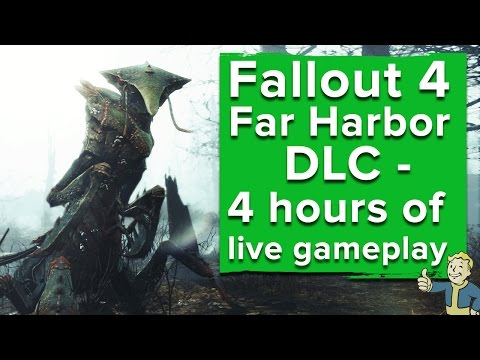 Fallout 4 Far Harbor DLC - Live Xbox One gameplay