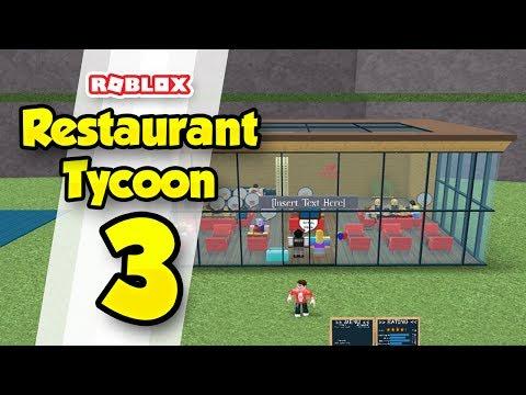 RESTAURANT TYCOON #3 - EXPANDING THE RESTAURANT (Roblox Restaurant Tycoon)
