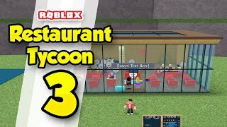 RESTAURANT TYCOON #3 - EXPANDING THE RESTAURANT (Roblox Restaurant Tycoon)