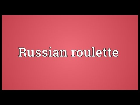 Video Russian roulette meaning rihanna