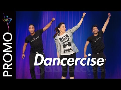 Dancercise - 10 minute - High intensity low impact workout with Madhuri Dixit for Beginners