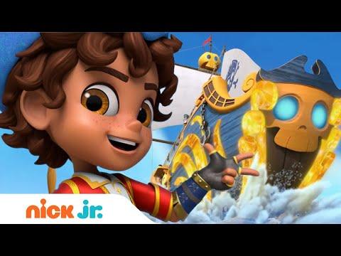 Santiago of the Seas ⚓️⛵️ Theme Song Sing Along! | Nick Jr.