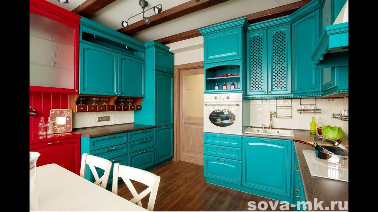 Кухни на заказ в Казани от компании SOVA - YouTube