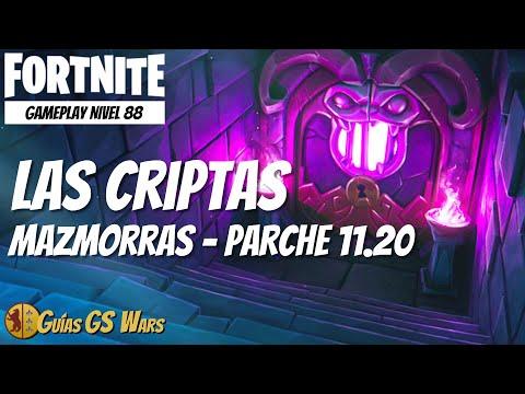 Gameplay MAZMORRA Las Criptas | FORTNITE