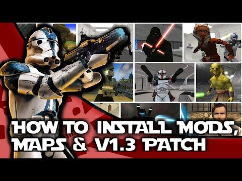 How To Install Star Wars Battlefront II Maps, Mods And The V1.3 Patch