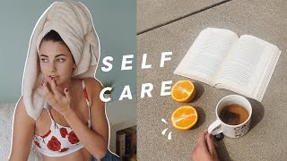 A Self Care Day With Me | Isolation Diaries