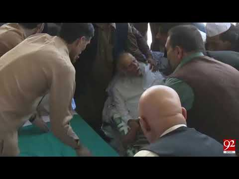 Pir Hameeduddin Sialvi shifted to Lahore hospital after condition worsened - 19 February 2018