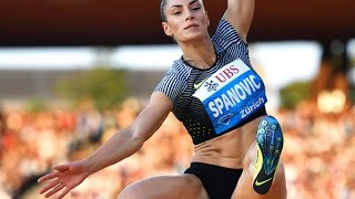 Ivana Spanovic 7.24 long jump at 2017 European Indoor Championships 2017