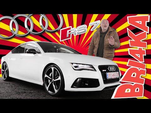 Audi RS7 | 1 GEN | Test and Review| Bri4ka.com
