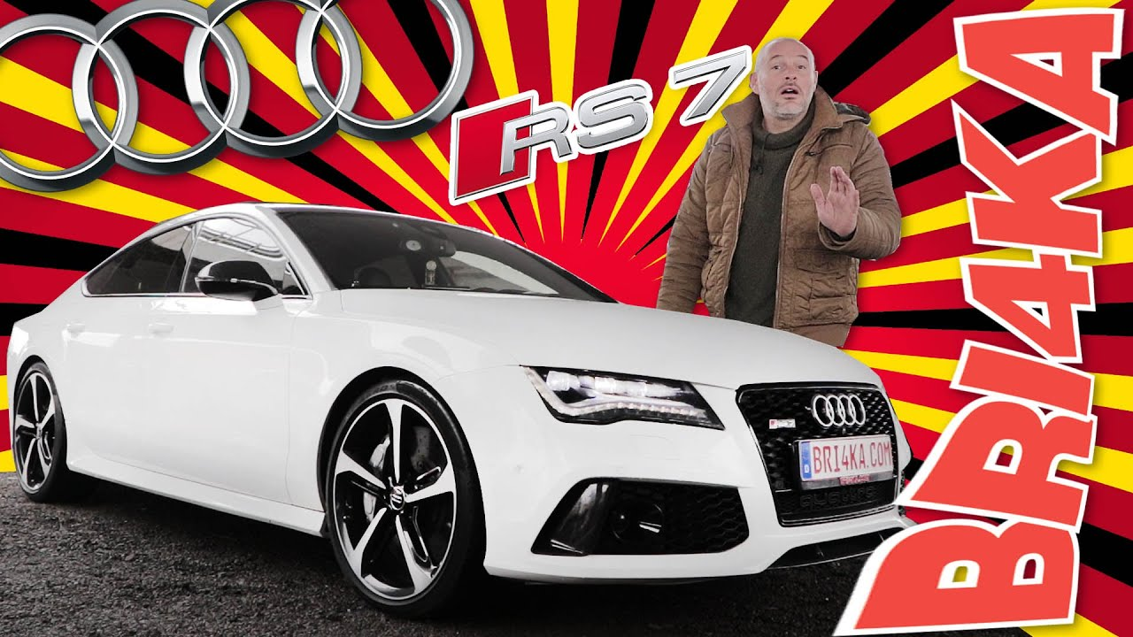 (VIDEO) - Audi RS7 - 1 GEN - Test and Review - Bri4ka.com