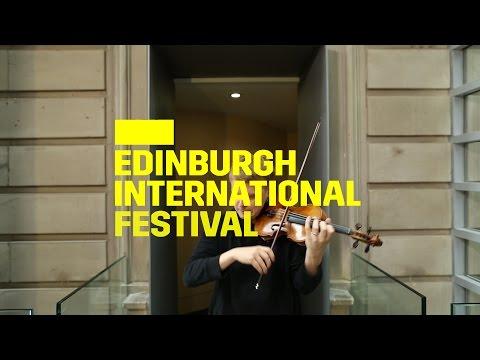 Pekka Kuusisto - Classic FM music session   2016 International Festival