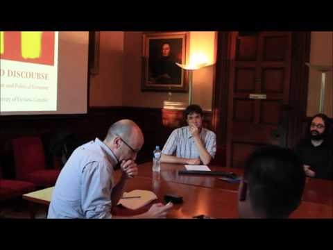 Simon Springer - Department of Political Economy Seminar Series 2016, University of Sydney