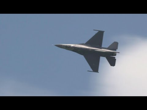 US Air Force F-16 Fighting Falcon Thunders Over Singapore – AINtv