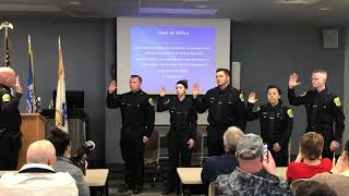 Five New Officers Are Sworn Into Green Bay Police Department