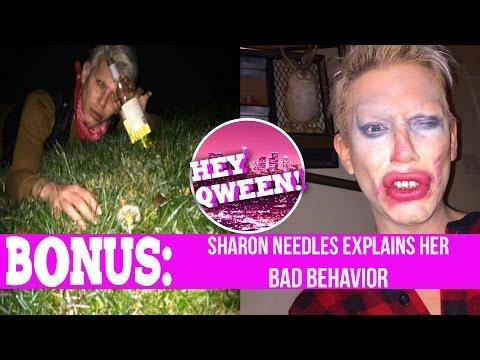 Hey Qween! BONUS Sharon Needles' Bad Behavior | Hey Qween