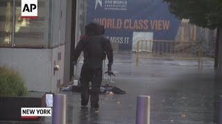 Suspicious package closes streets near WTC