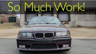 homepage tile video photo for RIPPING the BMW M3 Apart!! (Part 1)