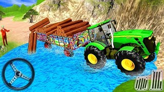Heavy Duty Tractor Cargo Transport 3D - Farmer Simulator - Android GamePlay screenshot 1