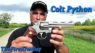 Colt Python - Why I Love It - TheFireArmGuy