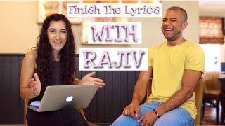 FINISH THE LYRICS CHALLENGE WITH RAJIV MUSIC