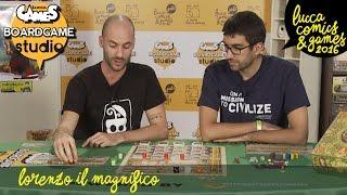[Lucca Comics & Games] Boardgame Studio: Lorenzo il Magnifico