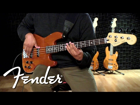 Fender Deluxe Active Jazz Bass Okoume Demo