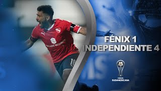 Fénix vs. Independiente [1-4] | RESUMEN | Octavos de Final | CONMEBOL Sudamericana