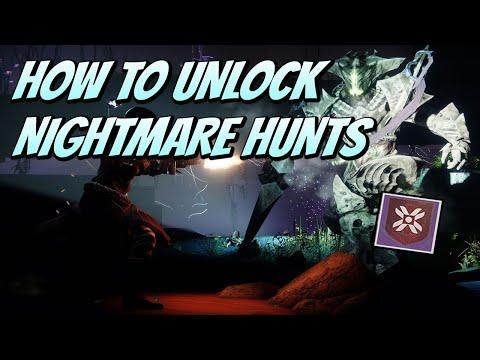 How To Unlock Nightmare Hunts (Destiny 2 Shadowkeep)