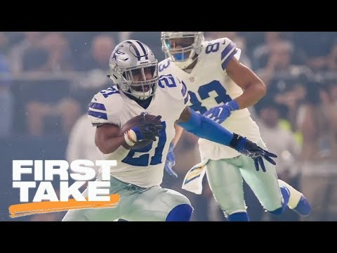 Is NFL losing 'power' through Ezekiel Elliott suspension process? | First Take | ESPN