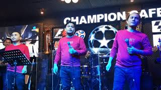 Champion Cafe Trio II Holan Au Do Mangantusi HO II Live Show Terbaik dan Terbaru Champion Cafe..Seru
