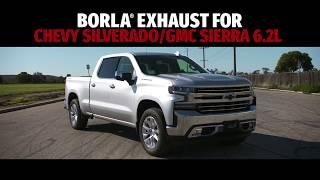 Silverado//Sierra 1500 6.2L 2019 Cat Back Exhaust ATAK