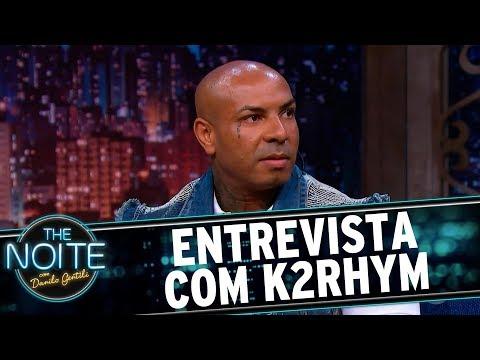 Entrevista Com O Rapper K2rhym   The Noite (30/06/17)