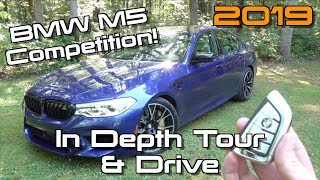 2019 BMW M5 Competition: Start Up, Test Drive & In Depth Tour