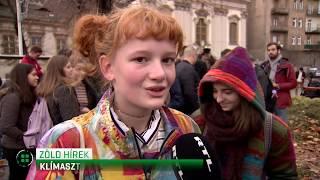 15 magyar városban csatlakoztak a 4. Globális Klímasztrájkhoz 19-11-29