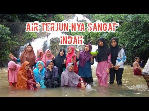 Tadabbur alam di Lokasi Air Terjun Aek Simanat yang sangat ...
