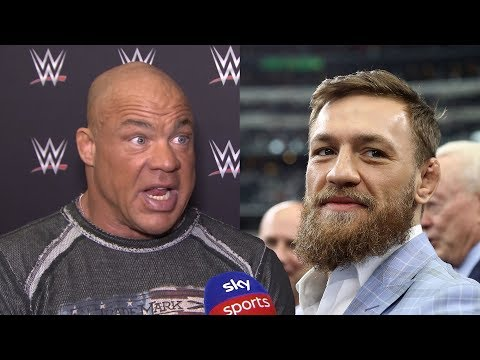 Kurt Angle on whether Conor McGregor could appear in WWE!