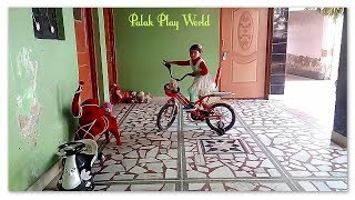 Play with Palak play world/ The Wheels Of The Bus kids nursery rhyme#Baby video.