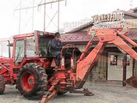 Kubota L Tractor Loader Backhoe