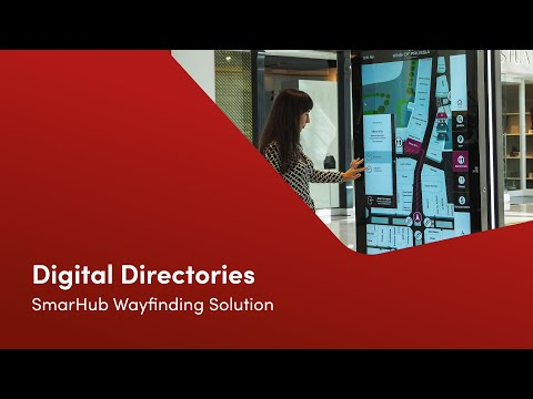 Interactive Wayfinding Kiosk Solution   Wayfinder V4