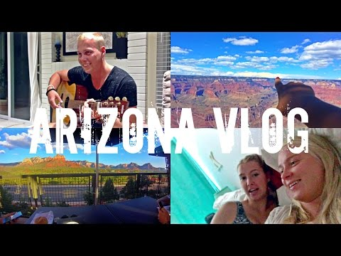 Mainland roadtrip: ARIZONA vlog // Grand Canyon, Sedona, Phoenix + San Diego
