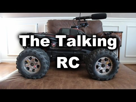 Thumbnail: Messing With People Using a Talking RC Car